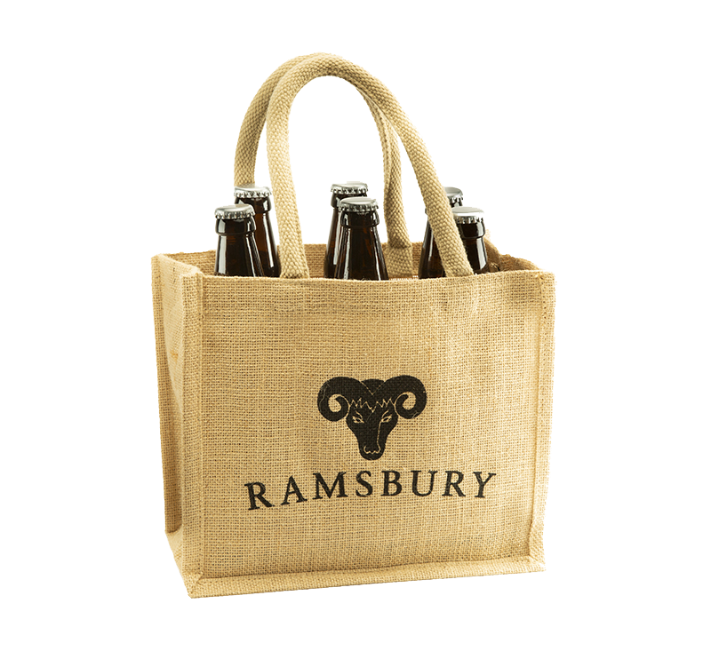 Bottle Carrier with 6 x Ramsbury Beers