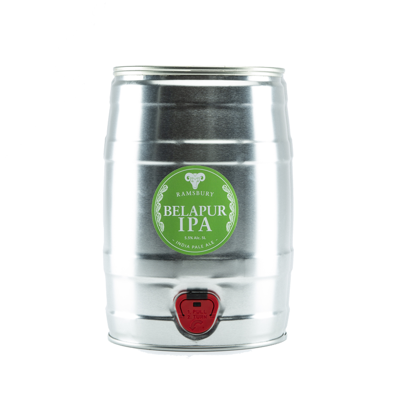Belapur IPA 9 Pint Mini Kegs