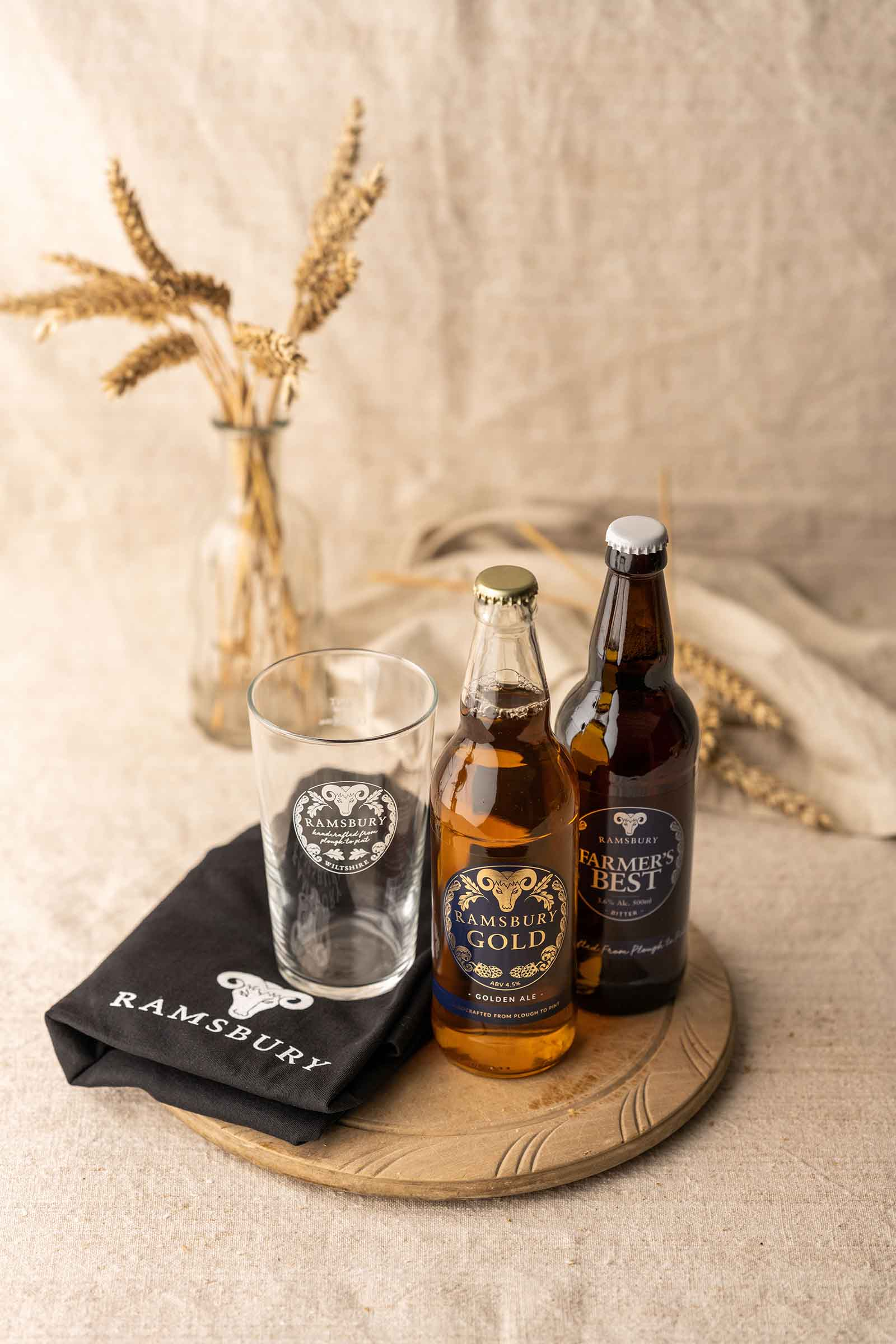 Beer, Glass &  T-Shirt Gift Pack
