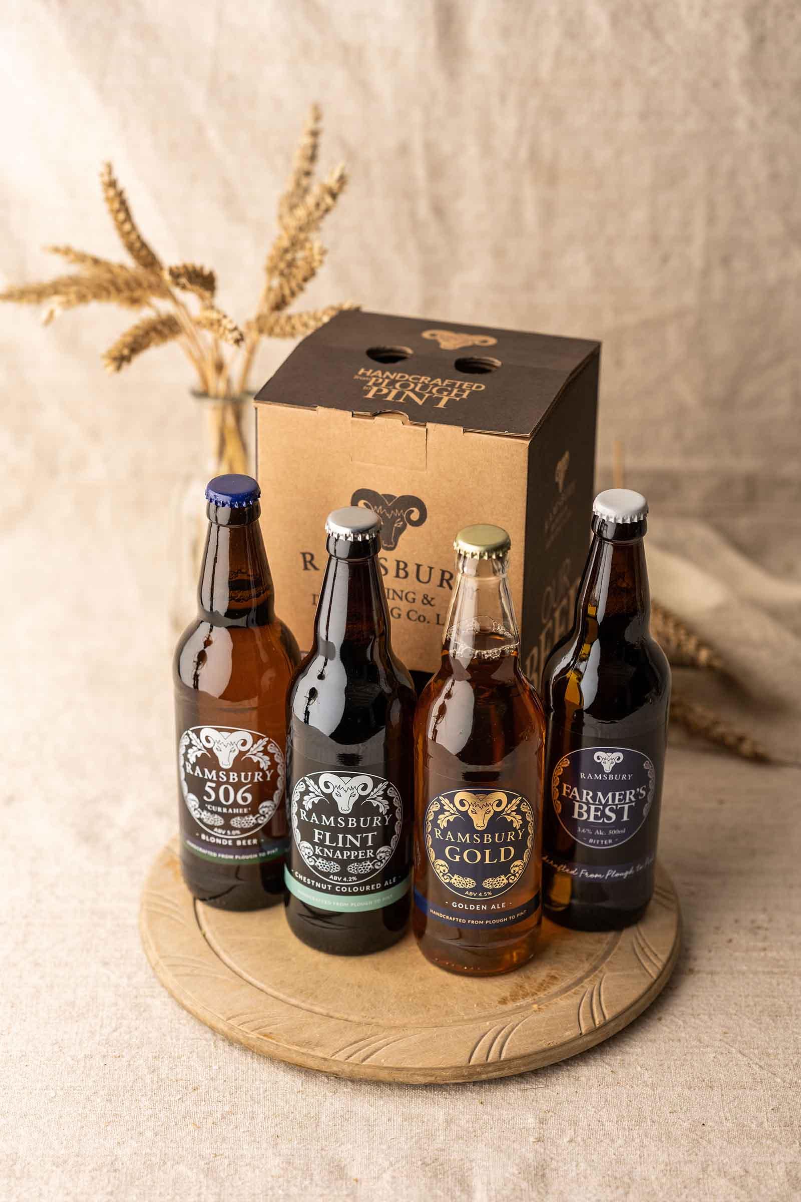4 Bottle Beer Gift Box