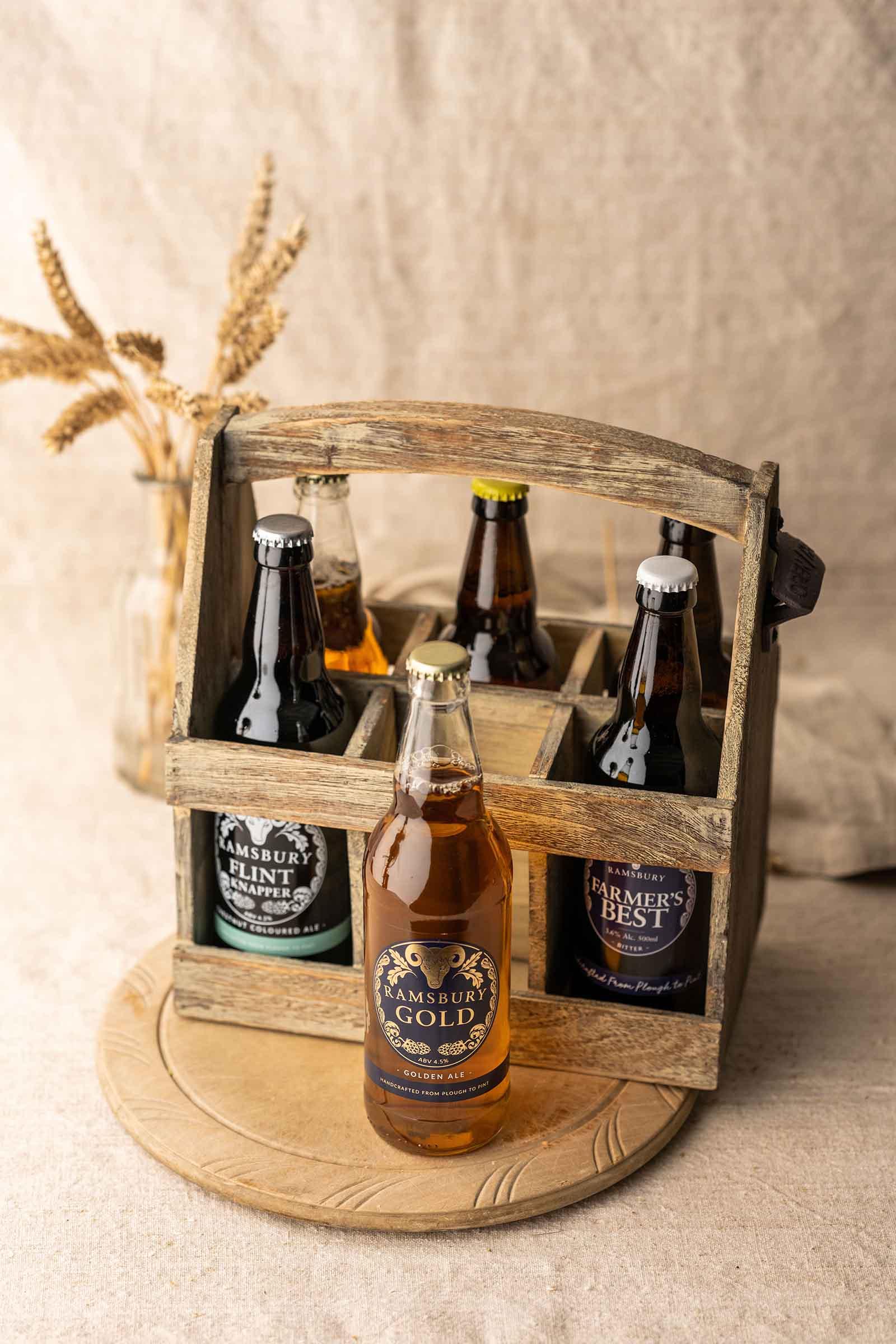 Beer Crate with Bottle Opener